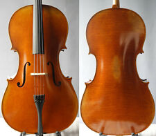handbuilt antique Antonio stradivari cello 4/4, vintage varnish, deep tone