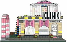 LEGO Custom Modular INSTRUCTIONS ONLY - The Mammography Clinic & Wig Shop