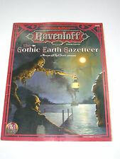 VINTAGE RAVENLOFT THE GOTHIC EARTH GAZETTEER D&D SC AD&D TSR 9498 MINT