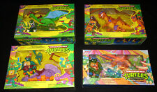 TEENAGE MUTANT NINJA CAVE TURTLES SET 4 MISB PLAYMATES TMNT DON MIKE LEO RAPH