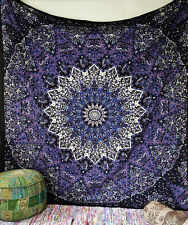Indian Black Star Psychedelic Tapestry Wall Hanging Throw Beding Decor Art Hippy