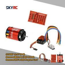 SkyRC 3250KV 10.5T 2P Motor &60A Brushless ESC &LED Program Card Combo Set G8K9