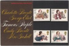 GB Presentation Pack 119 Famous People Authoresses 1980 10% OFF FOR ANY 5+