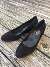 Tod's Women's Black Suede Platform Wedges Shoes 41 Made in Italy Career
