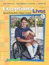 Exceptional Lives: Special Education in Today's Schools (5th Edition), Wehmeyer,