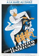 Original Vintage Poster A La Mare Au Diable Moliere Le Bourgeois Gentilhomme 90s