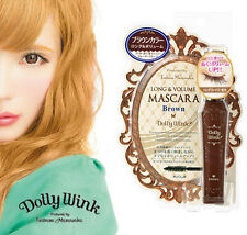 [KOJI DOLLY WINK] By Tsubasa Waterproof BROWN Mascara (Long & Volume) JAPAN