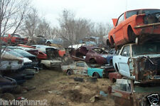 1960s and 70s Mustang Salvage yard  5 x 7  Photograph
