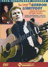 GUITAR DVD Learn To Play The Songs Of Gordon Lightfoot
