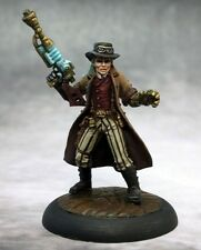Dr Bennet Steampunk Hero Reaper Miniatures Chronoscope Sci-Fi Goggles Glove