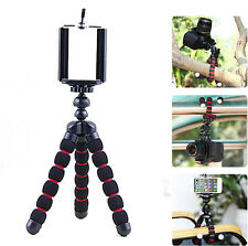 Flexible Octopus Tripod Stand + Mount for iPhone 6 / 6 Plus 5 5S 5C 4 4S Camera