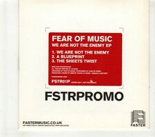 (GT841) Fear Of Music, We Are Not The Enemy - 2007 DJ CD