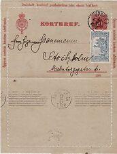 Briefmarken Schweden,Ganzsache Kortbref Zusatzmarke Tuberkulosehilfe