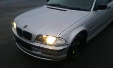 BMW 320D E46 SALOON 2001 BREAKING ALL PARTS M47 ENGINE N/S/FRONT O/S/REAR SILVER