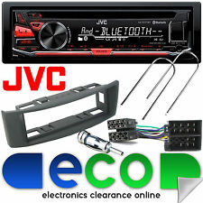 RENAULT Scenic 96-03 JVC Bluetooth CD mp3 USB Auto Stereo & Grigio Fascia Pannello KIT