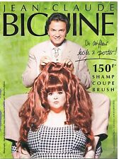 Publicité Advertising 1994 Salon de Coiffure Jean Claude Biguine  Anne Zamberlan