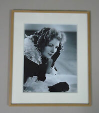 Greta Garbo - Tirage photo argentique original 28x36cm - Marguerite Gautier