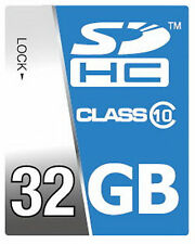 32 GB Class 10 High Speed SDHC Speicherkarte kompatibel mit Casio EX-ZR 700