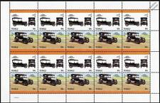 1915 CHEVROLET BABY GRAND Car 20-Stamp Sheet / Auto 100 Leaders of the World