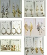 Fashion Jewelry lots 10 pairs Mixed Style Fashion Dangle Earrings wholesale #146