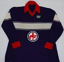 1983-1984 FIORENTINA MATCHWORN ENNERE HOME FOOTBALL SHIRT (SIZE L)