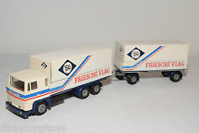 TEKNO SCANIA 141 TRUCK WITH TRAILER FRIESCHE VLAG NEAR MINT CONDITION