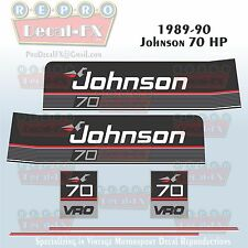 complete outboard engines in brand johnson 1989 90 johnson 70 hp sea horse outboard reproduction 6 pc marine vinyl decals