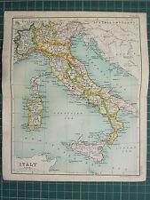 1904 piccole MAP ~ ITALIA ~ SARDEGNA SICILIA ROMA TOSCANA EMILIA Puglia