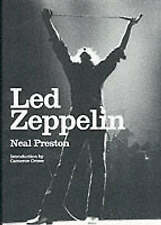 LED ZEPPELIN A PHOTOGRAPHIC COLLECTION NEAL PRESTON 1ST ED BOOK EXC