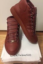"Balenciaga Arena Sneaker in Rust Red ""Rouge Rouille"" size 42"