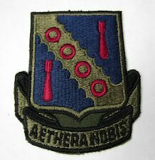 42d Bombardment Wing Aethera Nobis Subdued Air Force Patch Loring AFB Maine
