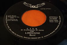 Rare Private Georgia Rock 45 : The Limousine Band ~ One More Time ~ Jam 0005