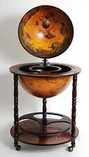 Globe drink cabinet 17 3/4 inches..Overall Dimension: 37x22x22 Inches
