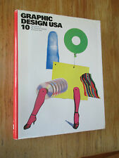 Graphic design USA : 10 Catalogs Brochures Posters Packaging 1989