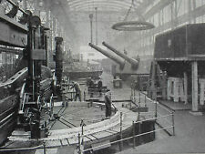 Essen Krupp Steel Works Centenary Gun Making 1912 3 Page Photo Article 8152