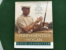 THE FUNDAMENTALS OF HOGAN by DAVID LEADBETTER INSTRUCTIONAL GOLF BOOK *****