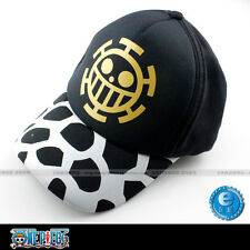 One Piece Trafalgar Law baseball cap Hat print of Law's sign Collect Costume New