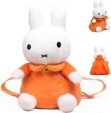 Lovely Miffy Backpack Rabbit plush schoolbag Birthday gift for kids