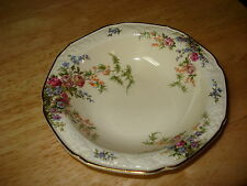 Vintage Crown Ducal Florentine Rosalie Rimmed Fruit Sauce Bowl