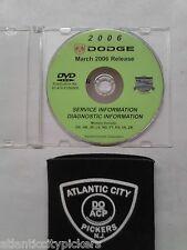 2006 DODGE DAKOTA RAM TRUCK CUMMINS VIPER SPRINTER SERVICE MANUAL & DIAGNOSTICS