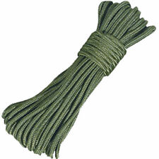 100FT PARACHUTE PARA CORD 550LB 7 STRAND CORE GREEN NYLON SURVIVAL OUTDOOR ROPE