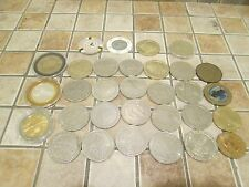 31 POCKER CHIPS TOKENS COLLECTABLE COINS SLOT MACHINE LAS VEGAS LOW PRICE 2 SELL