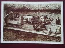 POSTCARD LE SHUTTLE - HISTORY OF TUNNEL 3