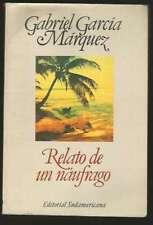 Gabriel Garcia Marquez Book Relato De Un Naufrago 2000