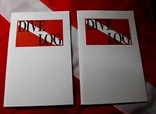 "Travel size logbook SCUBA dive equip paper 8.5x5.5"" christmas stocking stuffer 2"