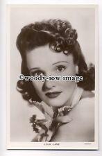 b2866 - Film Actress - Lola Lane - Picturegoer postcard no 1414