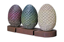 GAME OF THRONES DRAGON EGGS BOOK END FIGURE DAENERYS TARGARYEN BOOKENDS TV #1