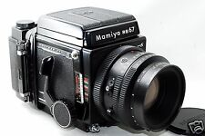 *EXC* Mamiya RB67 Pro S Camera w/ K/L 127mm F/3.5 L, 6x8 120/220 Motorized Film