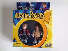 AUSTIN POWERS & FAT BASTARD MEZCO MEZ ITZ MIMB MOC Great Christmas Gift! MINT