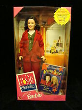 """ROSIE O'DONELL 12"""" Barbie Doll TV Host Mattel 1999 The View"""